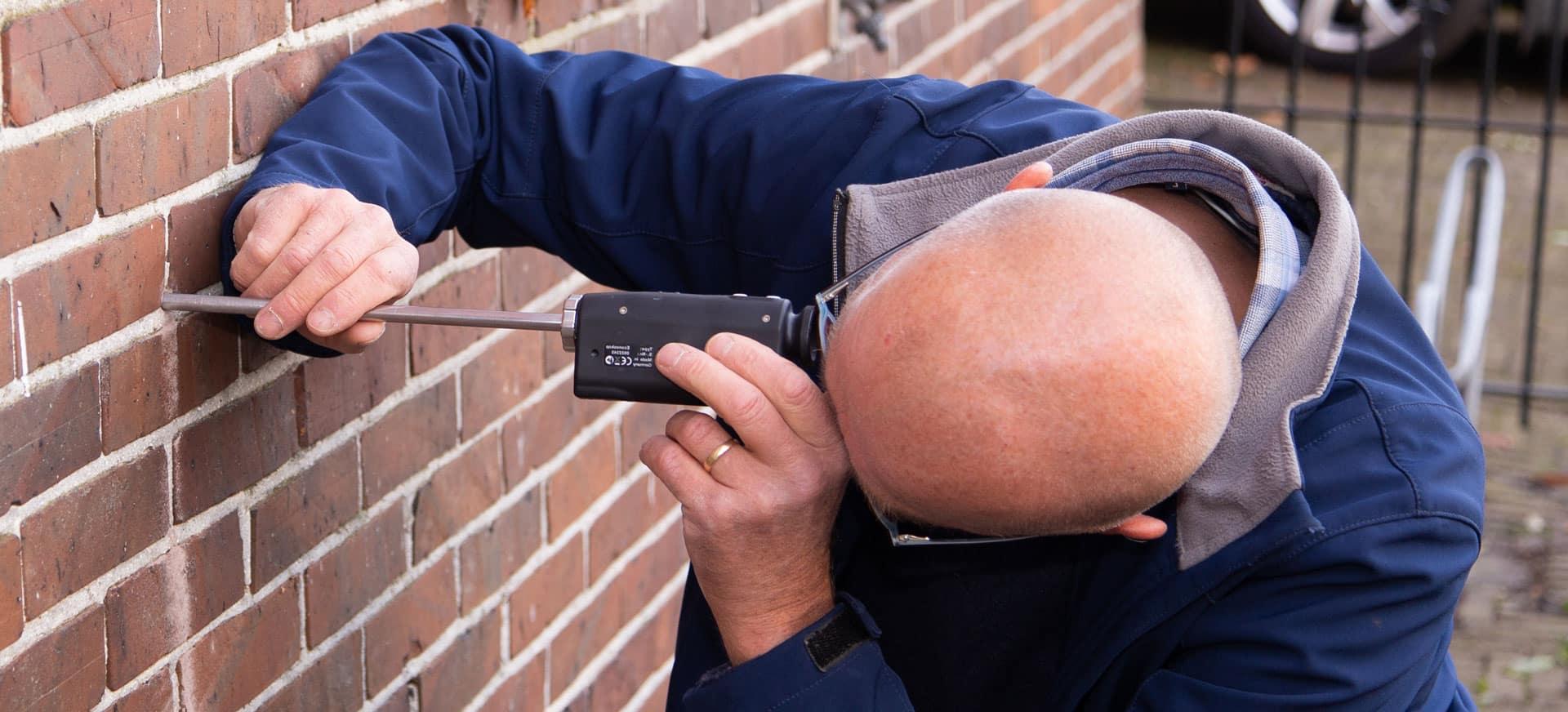 inspectie spouwmuurisolatie kosten, onafhankelijk adviseur Westra Bouwadvies
